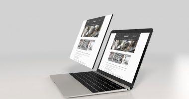 projekt layoutu landing page www