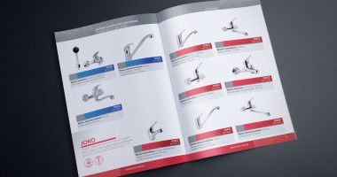 Projekt broszury ulotki katalogu produktowego Gdańsk Gdynia NEO