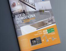 projekt graficzny magazynu gazetki promocyjnej Łódź