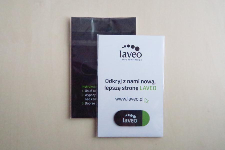 zasuwka na kamerę internetową Laveo