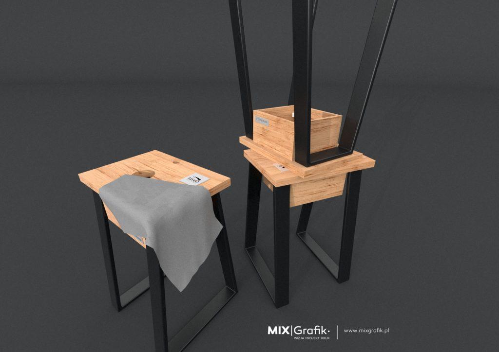 wykonujemy producent meble industrialne na indywidualne zamówienie stalowe drewniane
