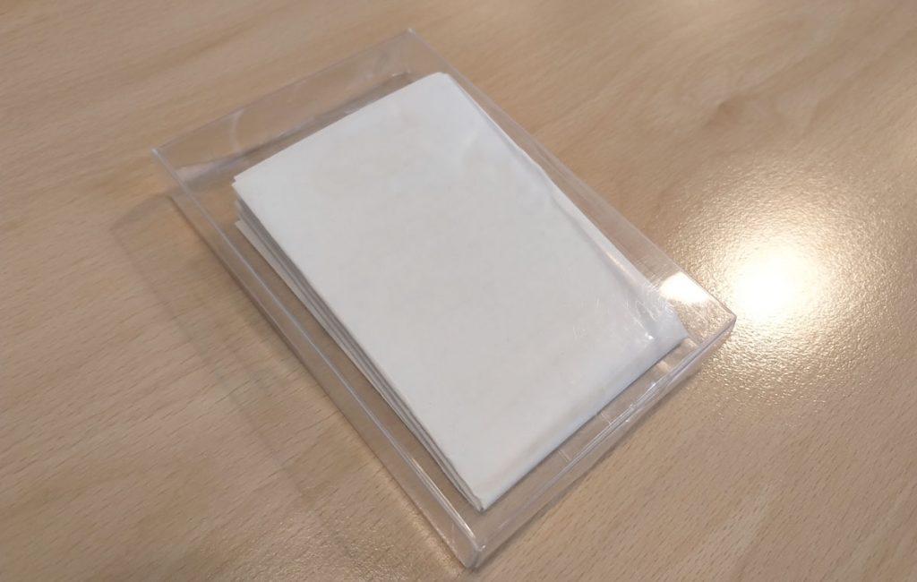 Opakowanie ogrzewacza do rąk z logo na zamówienie hand warmer with custom logo pattern