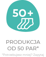 50+ zamów od 50 par skarpetek custom socks from 50 pairs