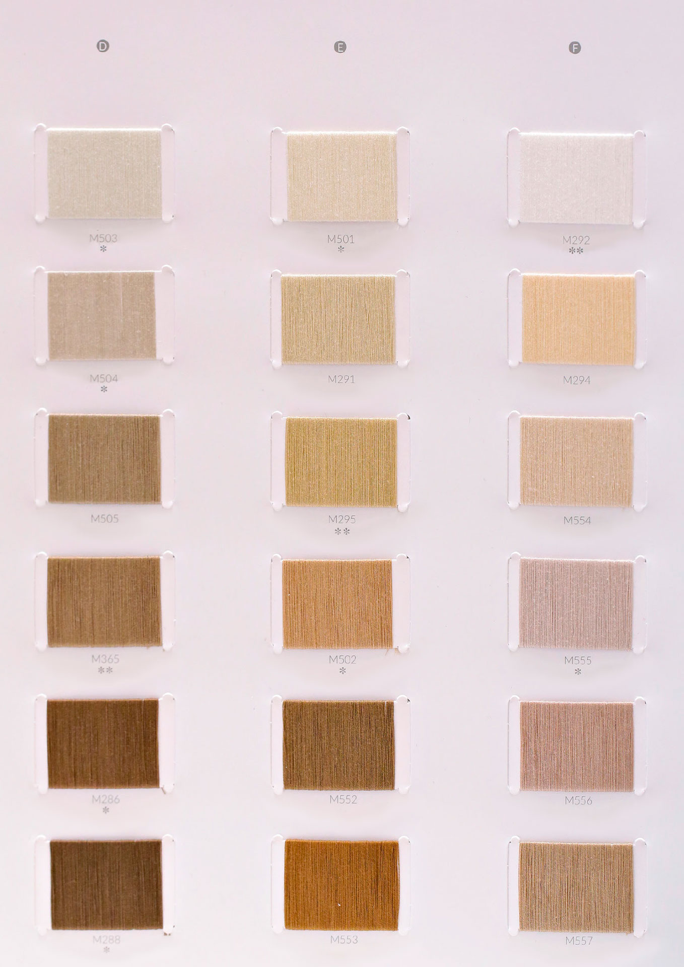 Karta kolorów przędzy bawełnianej merceryzowanej sprzedaż hurt detal