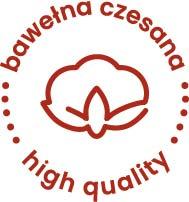 Bawełna czesana-high quality-bordo