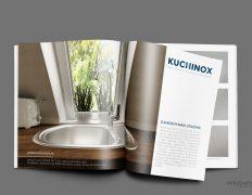 Projekt graficzny katalogu Kuchinox Łódź Warszawa