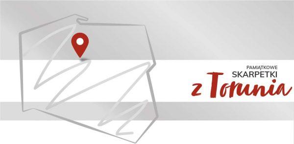 01-Skarpetki pamiątkowe z Torunia-MIXgrafik-zamów ze swoim logo