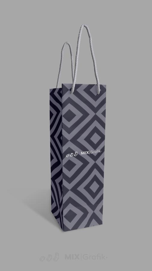 Wizualizacja gratis torby prezentowe - mockup