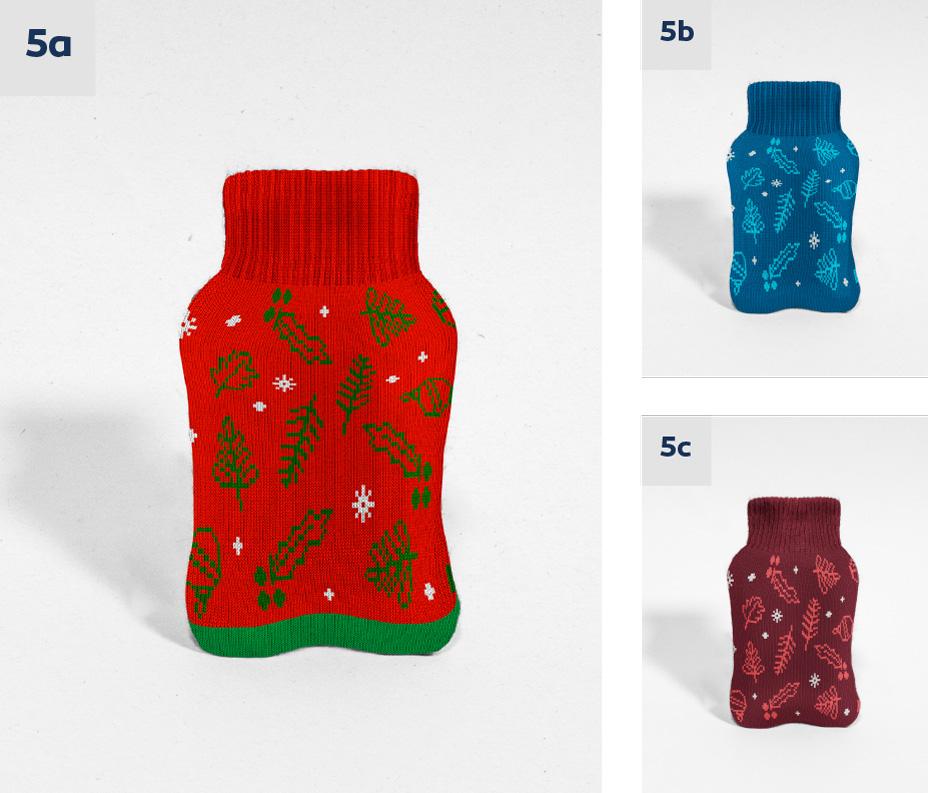 Ogrzewacz do rąk świąteczny wzór na zamówienie logo termoforek