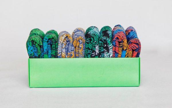 Skarpetki na zamówienie kolorowe z własnym wzorem