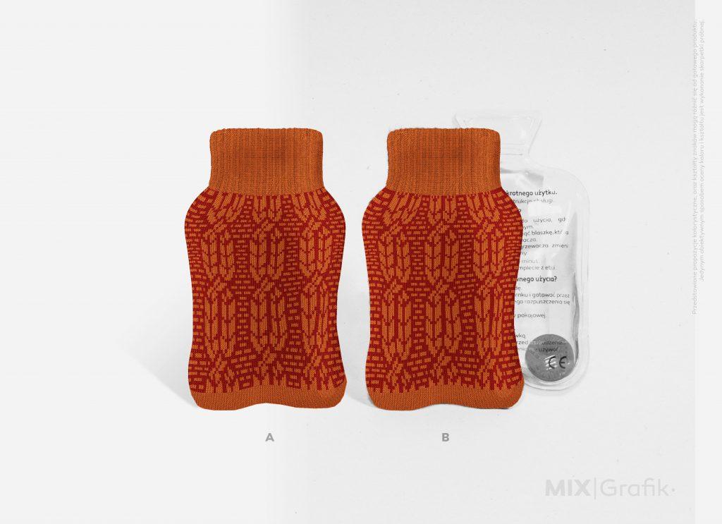 custom made hand warmers in sweater, ogrzewacze do rąk w sweterku na zamówienie z logo